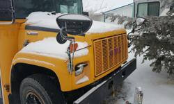 1998 gmc school bus for sale $1500 runs good 48 passenger with seats removed used for storage started twin a year to make sure it works