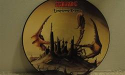 Rare 1982 Scorpions Lonesome Crow picture disc. HMI PD2 Excellent condition. Will not ship.