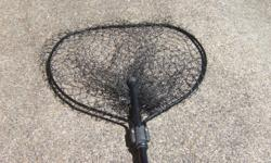 "Like New: Scotty 30"" Landing Net with strong Telescoping 4 ft handle that retracts for storage."