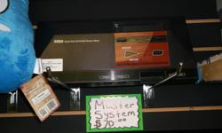 Item: We have a Sega Master System currently available. In over all good condition. Sega released this console before the Sega Genesis. These systems and games are starting to become uncommon. While this is our only console we do have a medium sized