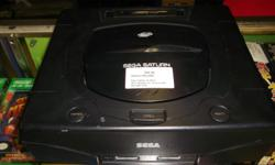 Item: We currently have a Sega Saturn in stock. It's been tested and works great. We also have a Saturn IB (in Box), controllers and games available for this system. Console bundles all come with the same package including AV cord, power supply, one