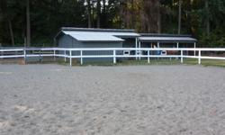 Well known long time established boarding stable at 6412 Bryn Road has recent vacancies for self board at $150. All stalls have wood planking floors which means odorless environment and all stalls have walkouts to very large paddocks of 150 feet long and
