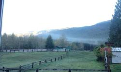 Self board available at beautiful, private 10 acre farm in the Cherry Creek area of the Alberni Valley, only 5 minutes from town. Large paddocks with shelters, tack room, round pen and hay storage. Barn with stalls also available if you wish to bring your