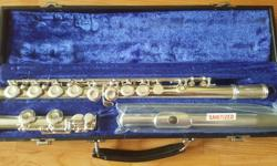 I am a music teacher and have two excellent, great looking, serviced flutes: a Gemeinhardt 2SP in excellent condition at $240. Also, for the advancing student, a mint Buffet Cooper Scale open holes for $400. I cannot overemphasize the importance of