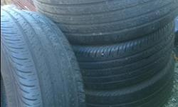 Set of 4...tire size 235/55R 17 ....these tires were off a ford focus that we no longer have.