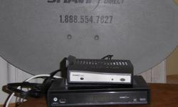 Shaw Direct Home Satellite System with dish and 2 controllers. Fantastic Condition. Only used in Camper.