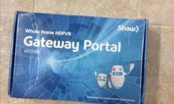 I have 3 Shaw gateway portals for sale. I have downsized to a smaller home and have no need for them. They are just over a year old and one has never been used.
