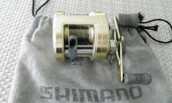 This reel is Left hand, Has been well used, but has plenty of life left. Has helped to land plenty of Steelhead over the years.