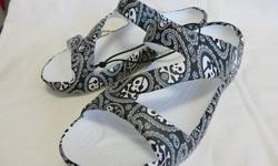SHIVER ME TIMBER, Z SANDALS BY DAWGS. NEW STOCK Buy one pair for $30.00 get the second pair for $20.00 8 COLORS TO CHOOSE FROM CHECK THE PRICE ON E BAY,BEFORE YOU CALL OR E-MAIL ME LIMITED SIZES, 6-9 CHECK OUT MY OTHER ADDS. DETAILS LOUD MOUTH DAWGS most
