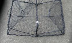 """SHRIMP TRAPS. 23 X 17.5 X X 7 in. or 58 x 44 x 18 cm. In very good to like new condition. Its a house number so texting will not work. """"""""DO NOT"""""""" CALL BEFORE 8 am. OR AFTER 9:00 pm. CASH ONLY. PICKUP ONLY VIEW MAP for general location. View poster's list"""