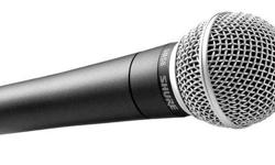 Looking for a Shure 58 vocal microphone in good condition.