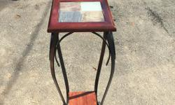side table tall