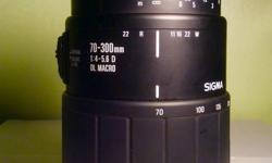 No scratches Tight barrel Auto Focus motor good Body caps Hoya Skylight filter Good zoom lens Great Macro lens Nikon mount