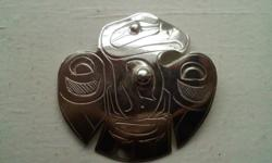 I'm selling this Silver Native Art Raven Pendant for 100$ these usually sell for about 140$-160$ comes in a nice presentable box, makes for a great gift, or for youself. please email me with any questions, please see my other ads as well for other Native