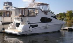 MER L'EAU 2 IS FOR SALE. My wife and I have decided that are boating days are over and going on to something else. This Silverton 39 MY has the living space of any 50 ft motor yacht but the price of a 39 ft motor yacht. The Cummins diesel TBA 6, 5.9 TURBO