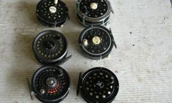 (((Open this ad to view all that is listed.))) SINGLE & DOUBLE ACTION FLY FISHING REELS. $50.00 - FJORD DOUBLE ACTION FLY FISHING REELS WITH DRAG. Made in Japan. $35.00 - DOUBLE ACTION FLY FISHING REELS WITH DRAG. $35.00 - VINTAGE BLUE EAGLE DOUBLE ACTION