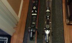 Men's all mountain skis 172 length, rossignol, men's rossignol powder skis 188 length $400.pr OBO