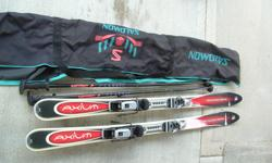 Rossignal Axium 160 skis. Saloman 53 HTC back entry boots- size 10. Salomen bag- full length zip + poles. Would like to sell as a package. No longer able to get out and enjoy skiing.