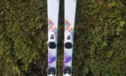 Tecno Pro skis, 120cm length. Excellent condition - no damage. Great beginner to intermediate ski.