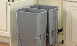 Brand new Real Solutions sliding wastebin. Purchased at Rona for $79.98. http://www.rona.ca/shop/~sliding-wastebin-real-solutions-436328_!real-solutions_shop I am also selling a brand new Ikea sink cabinet. Check the other ad.