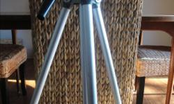 """REDUCED **Check out my huge selection of vintage items and collectibles!** Click """"View seller's list"""" in the user profile section of this ad. ----------- Price firm ?Tripod stands 26"""" tall when fully collapsed, and 66"""" when fully extended (including 11"""