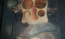 Small Block Chevy intake, casting number 14057057, $30 OBO