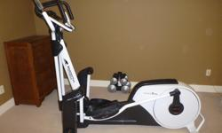 Smooth Agile DMT X2 Elliptical - excellent condition. Ipod/MP3 docking station with built in speakers, / built-in fan with 3 speeds / heart rate monitor. Computerized manual, endurance and heart operations plus 5 customizable pre-programmed workouts.