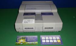 Item: We currently have a few SNES consoles available although numbers are pretty limited. Our SNES console bundles come with all the cords, one controller and warranty that covers all the parts. We also carry a wide selection of games available for the