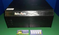 Item: This is a case used to store SNES games. This is one of the larger cases in fair condition. Some peeling happening on the top of the drawer as shown in the photo. All games & consoles come with a one month warranty. Thanks for viewing our post! For