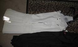 I have 3 pares of snow pants white ELLE sport 82-97 woman's Pierre Cardin 72-170 woman's OP 45-202 mens $25 each (604) 460-6949