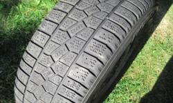 Kumo Snow Tires and Rims. Size 225 / 60 / 16 (Tuscon, Rav 4, Escape). Tires should be good for one more year. Wheels alone are worth over $250.00.