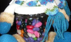 Filled with jellybeans! Great incentives/rewards/prizes.