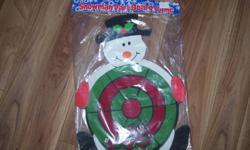 Snowman Sticky Dart Set - New in sealed pkg.   $3