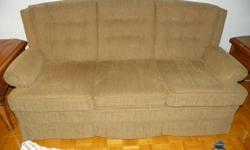 """PRICE REDUCED........$500.00 OR BEST OFFER    Bought in 2009 from Masse here in Cornwall   Just like brand new Sofa, custom made, apt. size 71""""  Must be seen to be appreciated. MOVING, need it gone.  (in one pic it shows some red, there is absolutely no"""