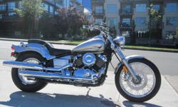 * SOLD * 2014 Yamaha XVS650 V-Star 650 Custom Motorcycle - **WOW!!! GREAT PRICE!!!** - $5,399 The Custom features lots of chrome, luminous paint, a bobtail rear fender, and the convenience of a clean, quiet shaft drive. Don't be surprised if your friends