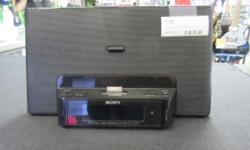 Sony Ipod Dock (30 pin connection) Digital alarm clock and radio