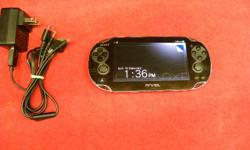 Sony Play Station Vita, model #PCH-1001, item #144531-17. With 4GB memory card, charger, WiFi , Bluetooth and charger. Price of $151 includes all taxes. PLEASE REFER TO INVENTORY #144531-17 WHEN INQUIRING. We also have more items for sale at The Bay