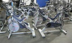 Come to our Fitness Equipment LIQUIDATIONS at our warehouse Saturdays and Sundays from 12 to 5pm. NO REASONABLE OFFER WILL BE REFUSED! SPIN BIKES as low as $499 (Star Trac Vs). Kaiser M3s for $850. HEALTH IS PRICELESS! What quality of spin bike do YOU
