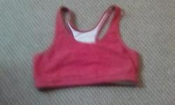 A red sports bra size medium pick up only