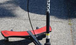 scooter for sale $40 pogo stick for sale $30 various bats - $5 each baseball bag - $10 hockey goalie stick - $5 hockey pants/padding - $5 each chest pads - $10 (Lacrosse)