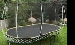 Safest trampolines on the market with no springs for kids to hurt themselves on. Sells for $1699.99 at Cdn Tire (see link below). Great condition. Out in Yellow Point. $350 obo.