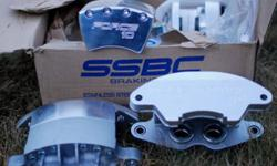 SSBC Force ten stainless steel brake kit for '68 Chev Impala. Model number A2419M. New, unused in box with all hardware and fasteners.