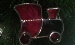 I can make any custom peices you would like done, whether it's to fit in a window tree decorations or whatever unique ideas you have. I also have an assortment of my own creations if you just want to look. They make a great gift idea and beatiful home