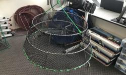 """We have a great deal on some of our in-stock crab traps! The Kufa CT-76 - Stainless steel - Tower style - Trap Dimension: 30"""" x 20"""" x 12"""" Was $79.95, NOW ONLY $64.95 PLUS TAX! *While Quantities Last* It's """"A Boat Show Every Day"""" at Sherwood Marine"""