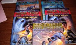 BOOKS FOR YOUNG READERS THE STAR GHOST #1, STOWAWAYS#2, PRISONERS OF PEACE #3, THE PET #4 4.00 EACH