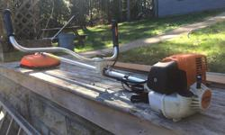 Stihl FS90. Very little use. New one is $500+Tax.