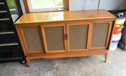 FOR SALE RENOVATED STORAGE UNIT. STARTED LIFE AS A TV/STEREO CABINET. PROFESSIONALY CONVERTED . VERY GOOD CONDITION. CAN BE USED GOR STORAGE OR AS A BAR