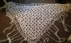 I have 2 beauty handmade crocheted string shawls.. One BLACK & one WHITE . . New. Fits all sizes. The strings sway really lovely as you are moving.. Makes an awesome gift too!! Only $60 each or both for $100. Please phone 250-868-9779 anytime. Thanks!!