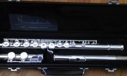 Gemeinhardt student flute, purchased last August for $425.00 plus tax, used 4 times. Only reasonable offers entertained. Advertised on other sites.