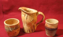 Student pottery for sale, various sizes, ranging from $10 (for small mug) to $40 for skeleton tiles, just in time for Christmas.  Please call to arrange pickup @ 376-3476. CHECK OUT MY OTHER ADS.